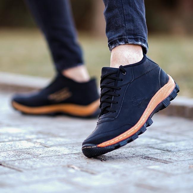 کفش مردانه CK مدل Norbert(مشکی)