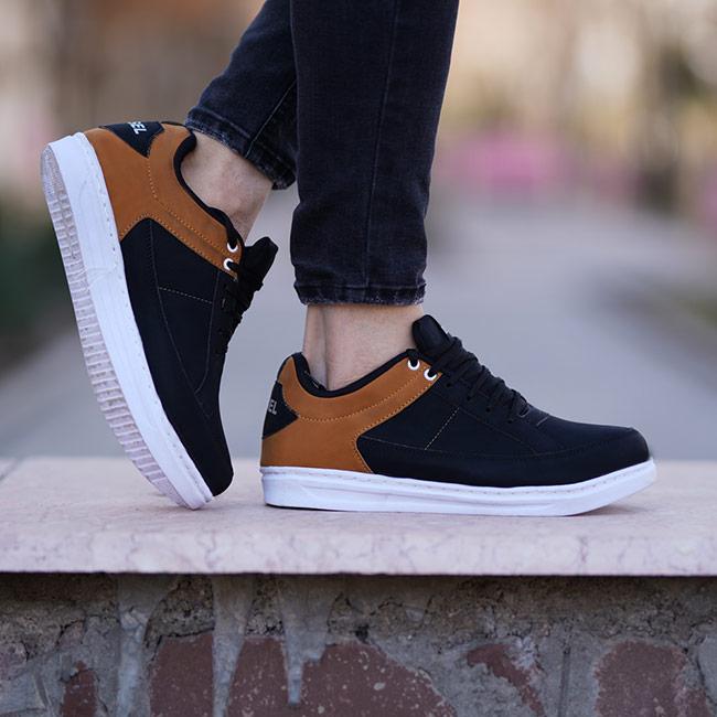 کفش مردانه Diesel مدل DP( مشکی عسلی)