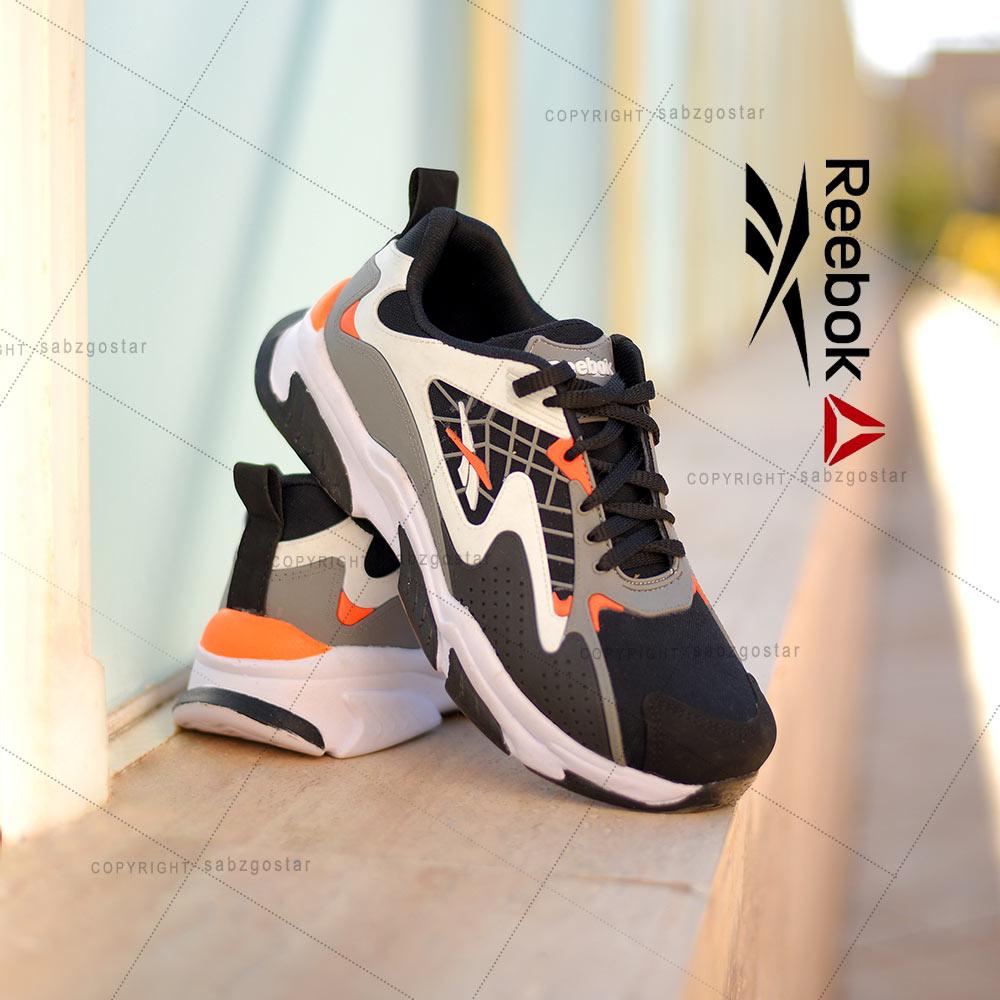 کفش مردانه Reebok مدلAls(مشکی نارنجی)