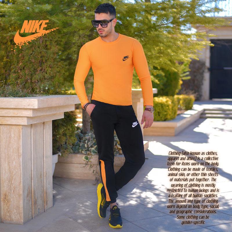 ست بلوز وشلوار Nike مدل Destiny(زرد)