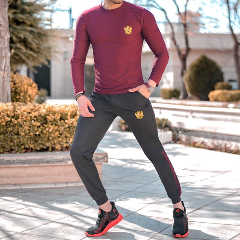 ست بلوز و شلوار Nike مدل Destiny(زرشکی)