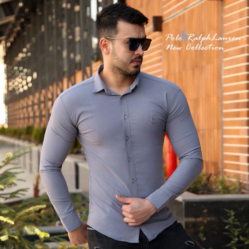 پیراهن مردانه Polo (طوسی)