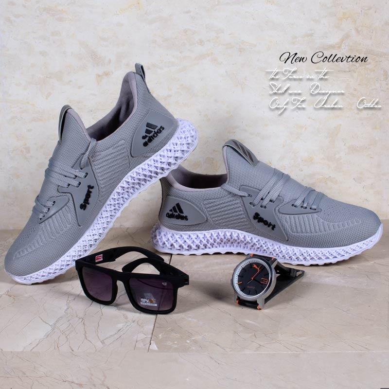 عکس محصول کفش مردانه adidasمدل heps(طوسی) با تخفیف
