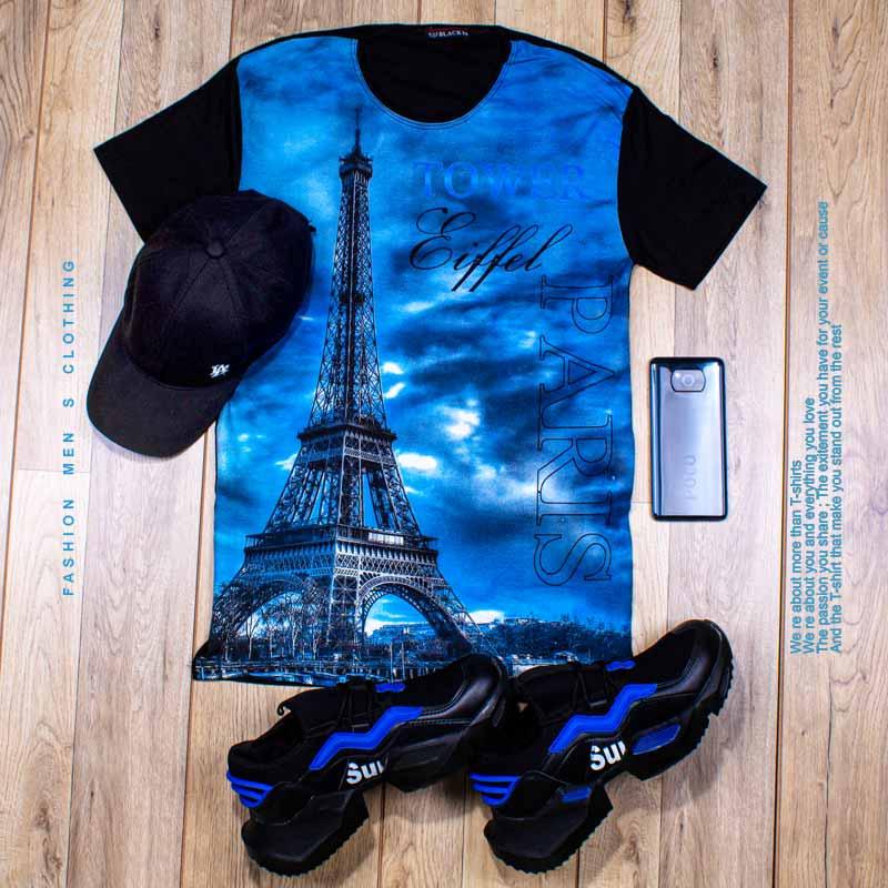 عکس محصول تیشرت مردانه مدل Eiffel با تخفیف