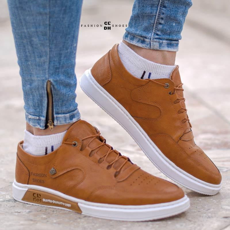 کفش مردانه مدل Drake(عسلی)