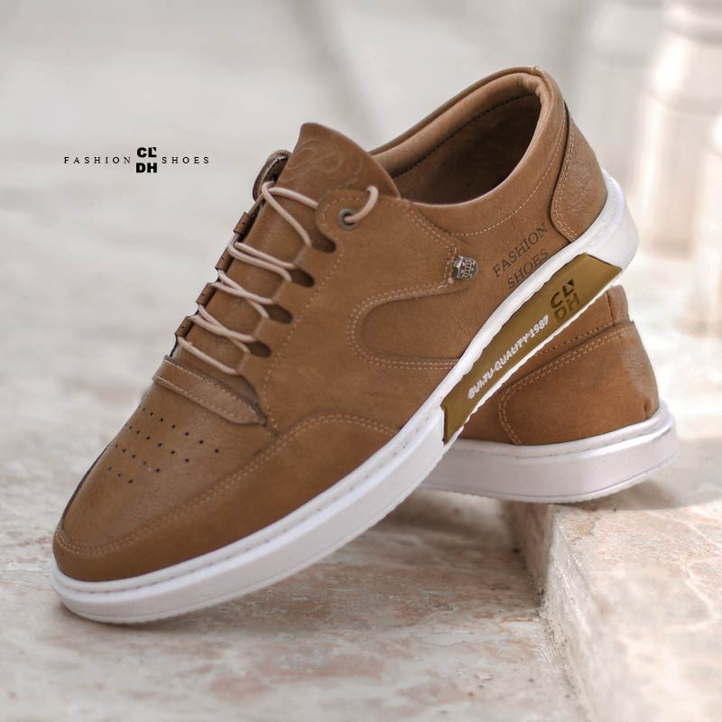 کفش مردانه مدل Drake(نسکافه ای)