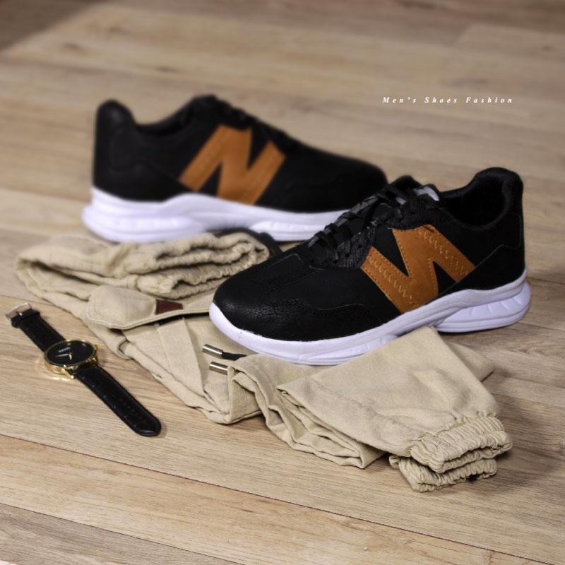کفش مردانه Newbalance مدل Vikendi (مشکی)