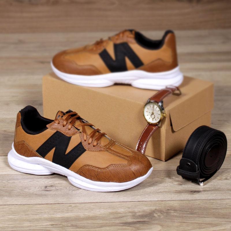 کفش NewbalanceمدلVikendi(عسلی)