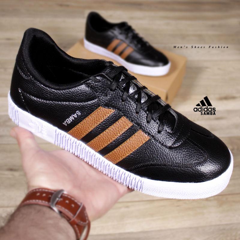 کفش مردانه adidasمدل SAMBA(مشکی عسلی)