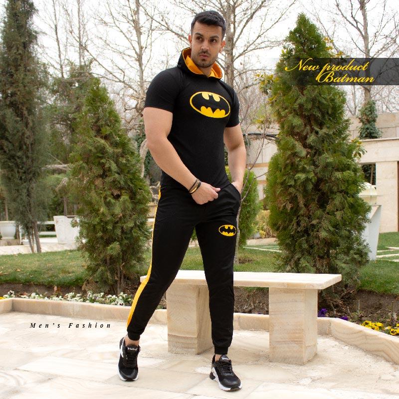 ست تیشرت و شلوار مردانه مدل Batman