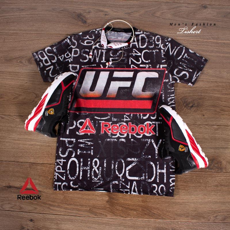 تیشرت مردانه reebook مدل UFC
