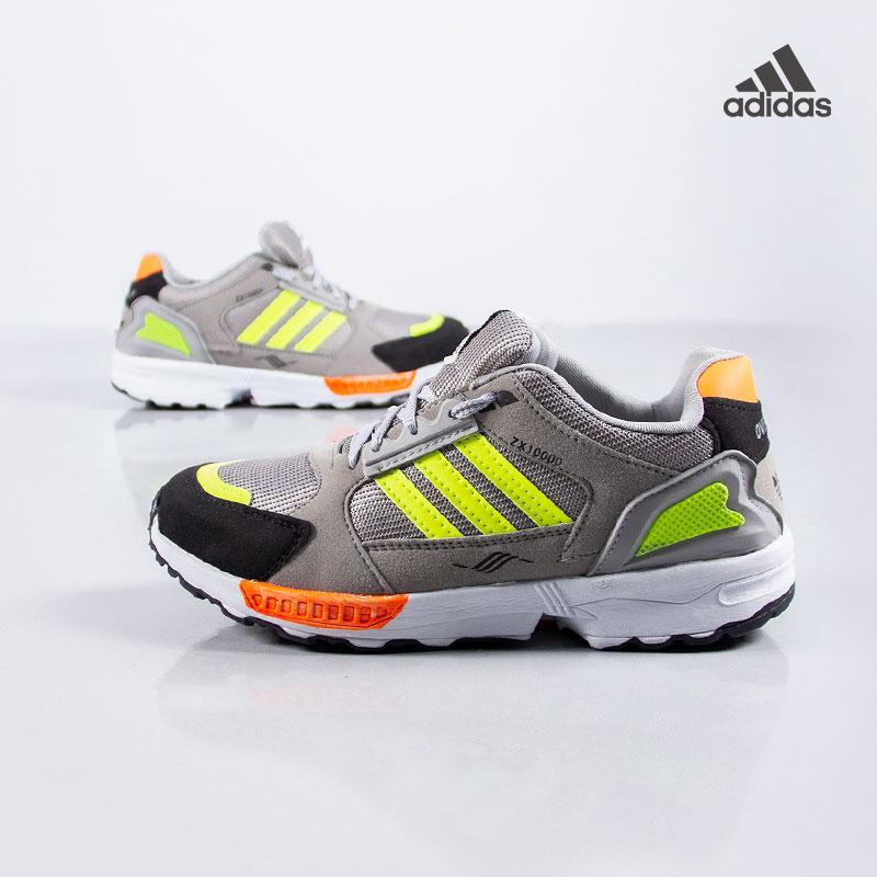 تخفیفانه کفش مردانه adidasمدلZX(طوسی سبز),Adidas ZX Men Shoes (Gray Green),کفش پسرانه آدیداس مدل زد ایکس رنگ طوسی و سبز,Adidas boys shoes model ZX gray and green,