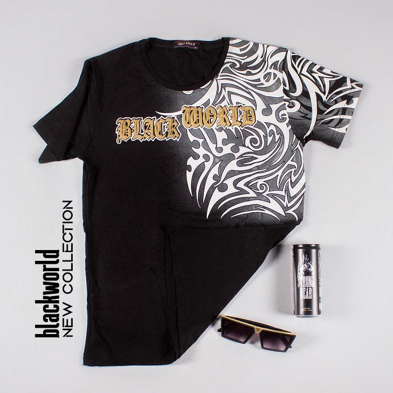تخفیفانه تیشرت مردانه مدل blackworld,Men's blackworld t-shirt,تیشرت پسرانه مدل بلک ورلد(جهان سیاه),خرید پستی تیشرت مردانه مدل blackworld,